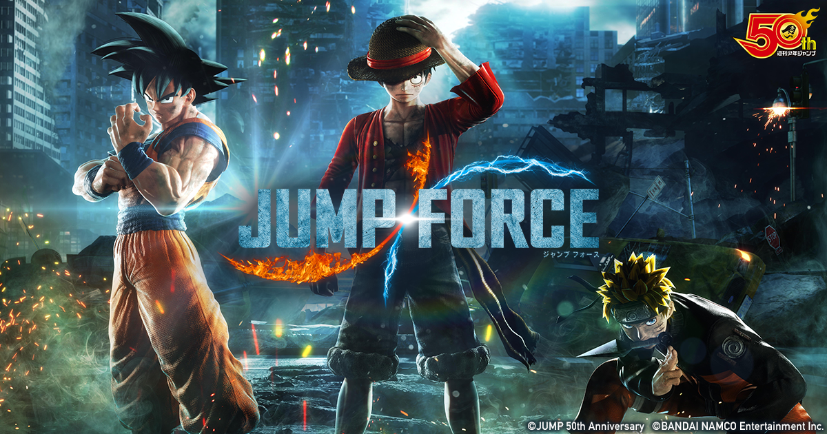JUMP FORCE(ジャンプフォース)」   バンダイナムコ ...