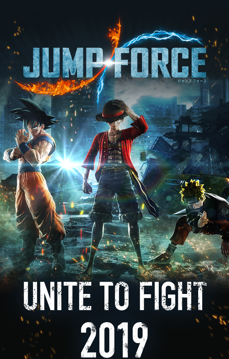 JUMP FORCE - UNITE TO FIGHT 2019